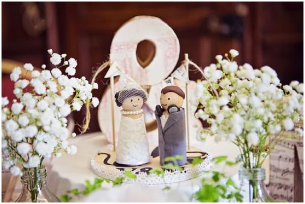 apersonalised wedding cake topper