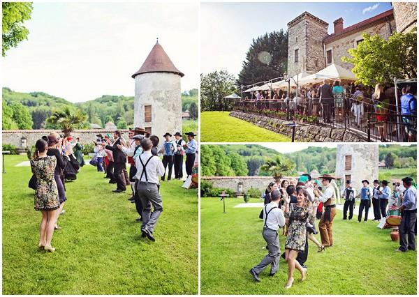 portugese wedding dancing
