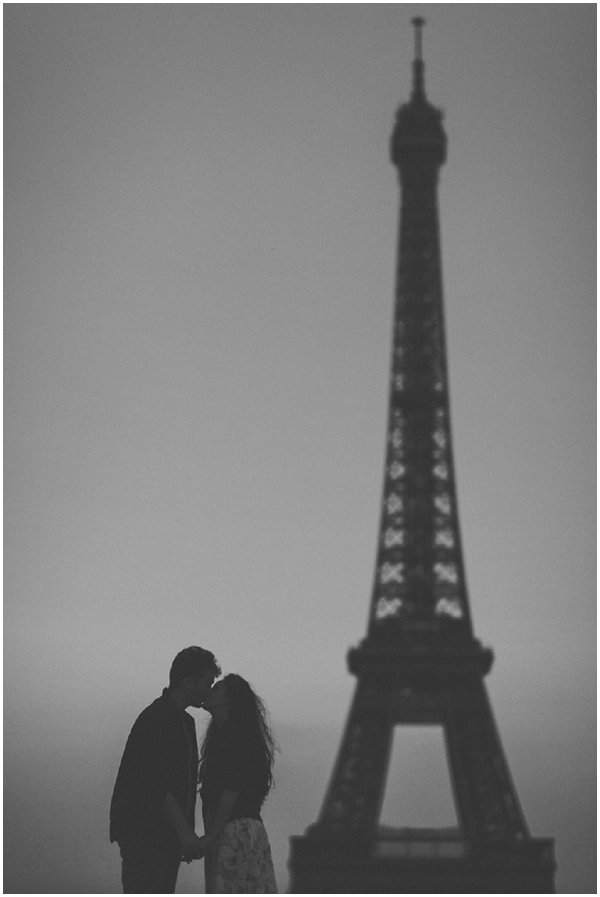 romantic nighttime eiffel tower