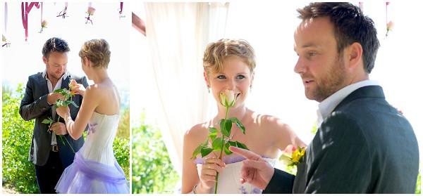 rose exchange wedding