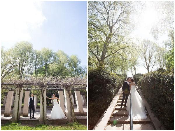 sunny wedding paris