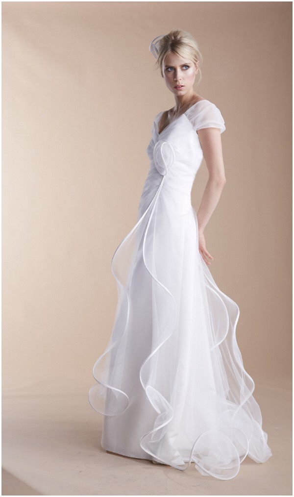 suzanne ermann feminine wedding dress