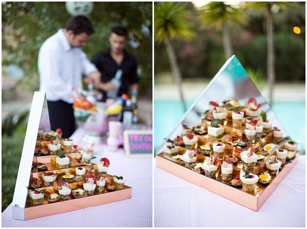 wedding canapes