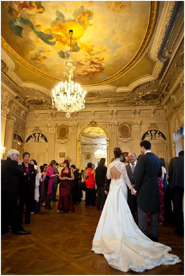 wedding reception paris