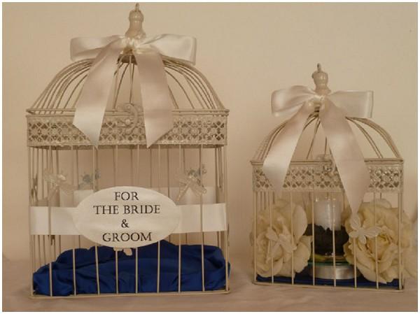 bridal birdcage