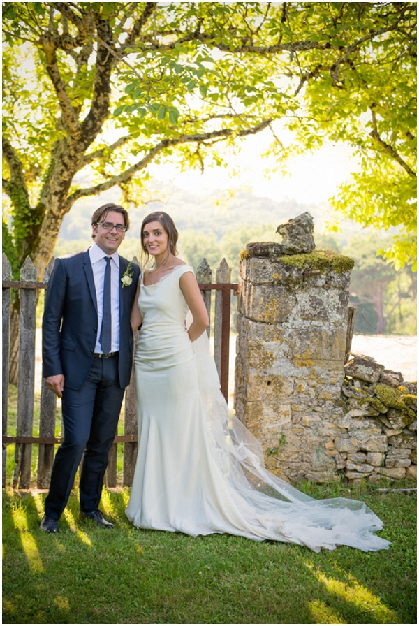 bride groom countryside