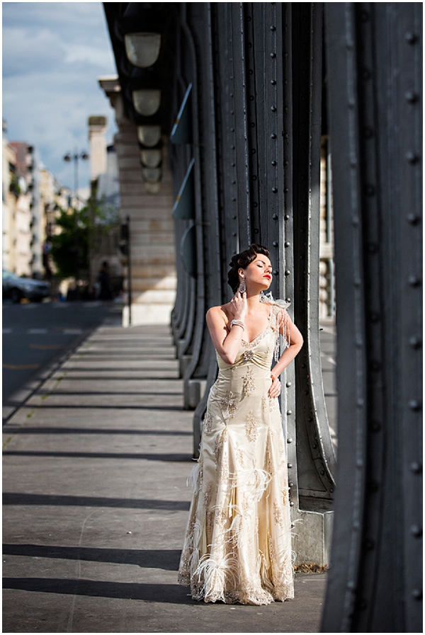 champagne ostrich feather_gown