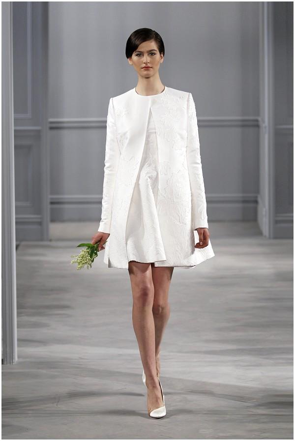 chic white short dress