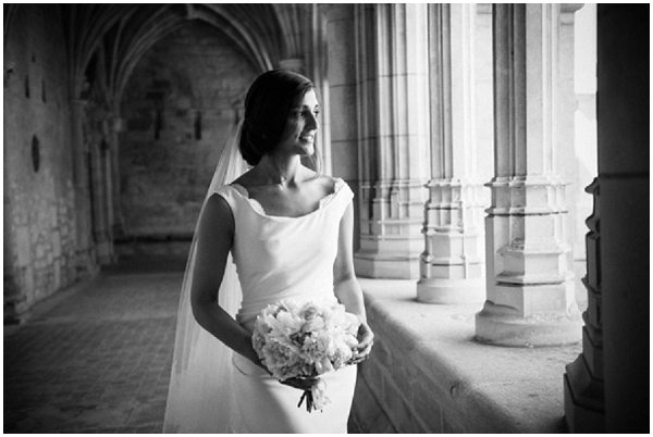 classic beautiful bride