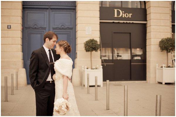dior wedding paris