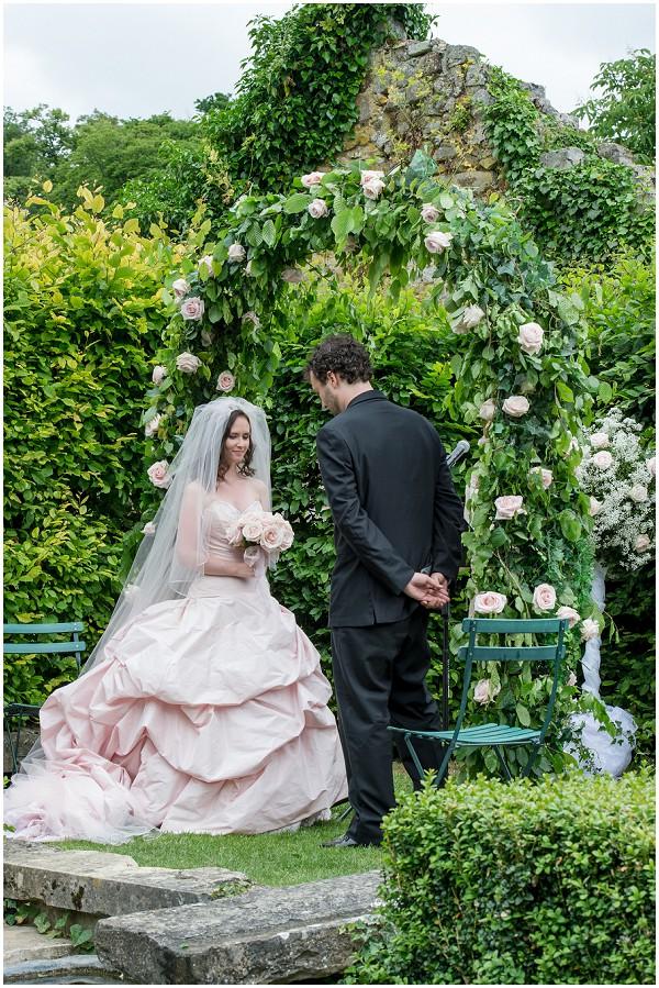 flower bridal arch