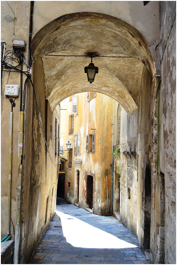 Arch in Grasse, France