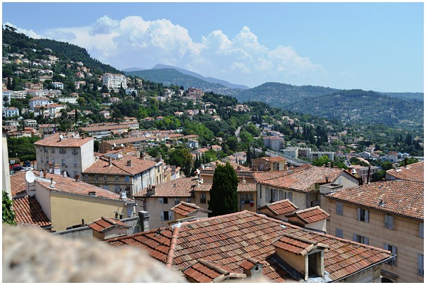 view over Provence from Grasse