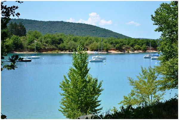serene Sainte Croix Lake