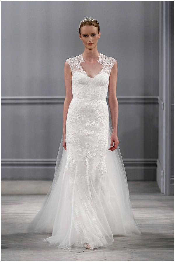 monique lhuillier lace wedding_dress