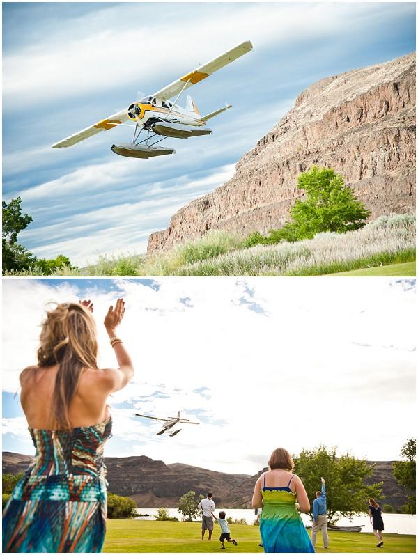 seaplane wedding activity