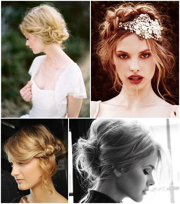 unusual bridal hair