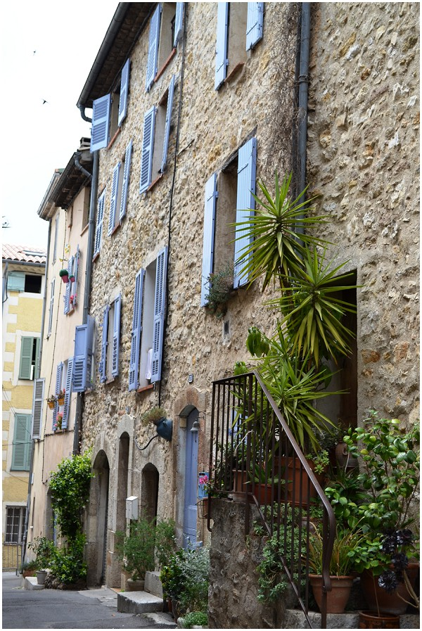 French house in town of Valbonne