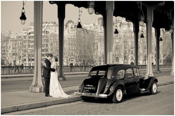 vintage wedding paris