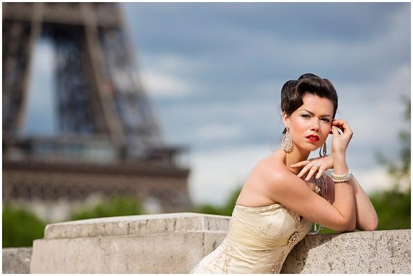 vintage glamour bride