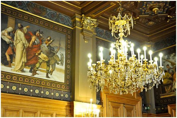 beautiful chandelier paris