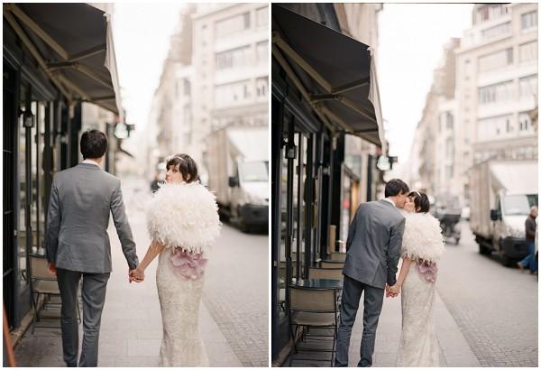 bride streets paris