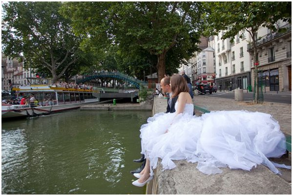 bride watching the world go by