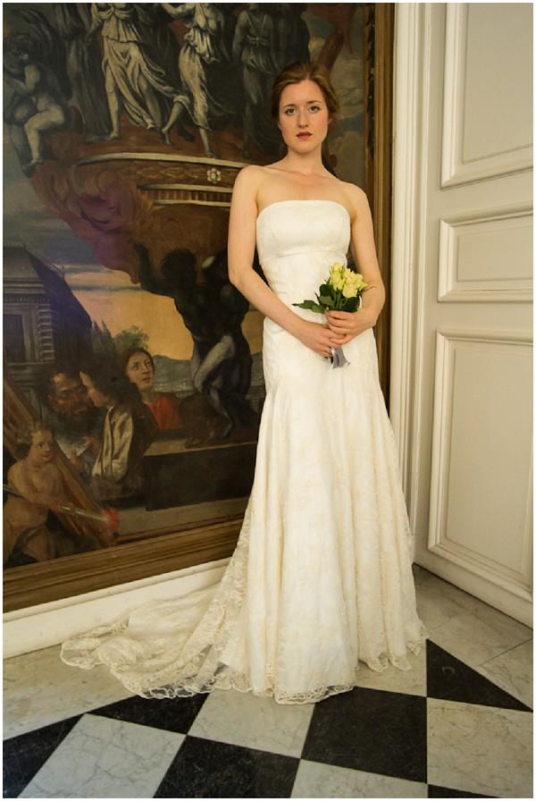chic vintage bride