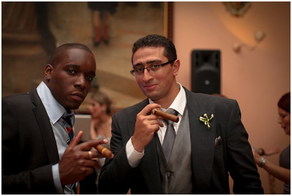 cuban cigars as wedding favour in France