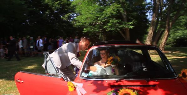 wedding video dordogne