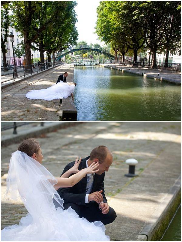 fun paris anniversary shoot