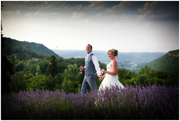 lavender fields wedding