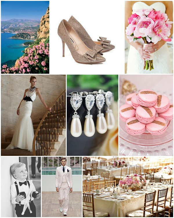 riviera chic wedding inspiration