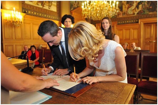 signing wedding bans