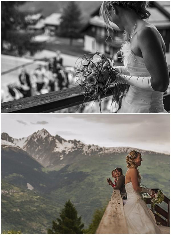 throw wedding bouquet