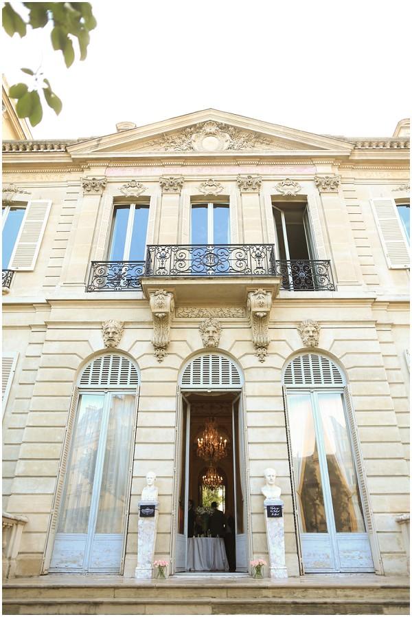 Fondation Dosne Thiers wedding venue Paris | Melissa Barrick Photography