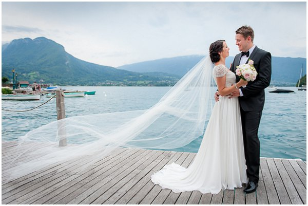 annecy lake wedding