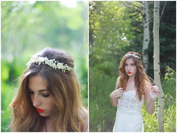 bohemian bridal headband