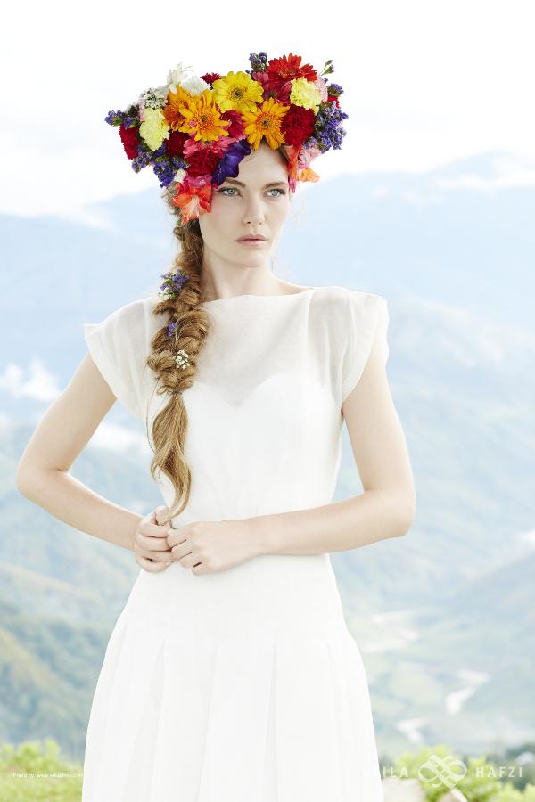 bohemian bridal wear