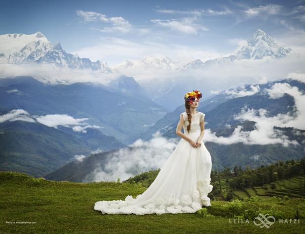 boho wedding dress