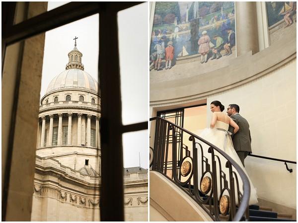 civil wedding in paris