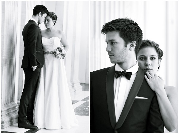 classic bride groom style