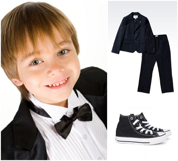 Young boy wedding party ideas