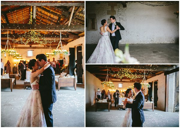 destination wedding first dance