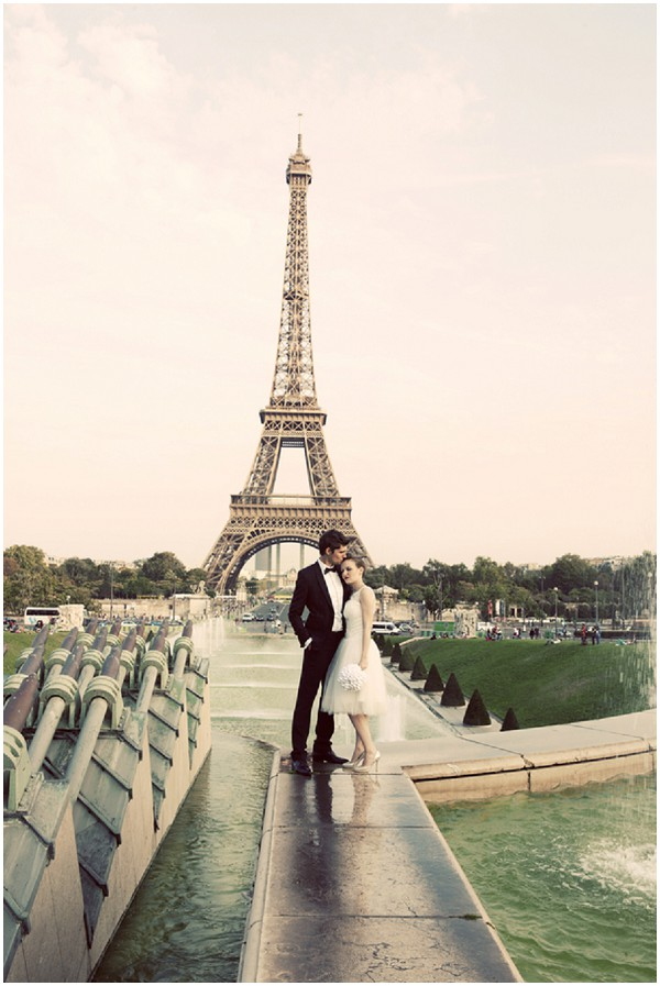 Djamel Photography Eiffel Tower Pre Wedding Shoot