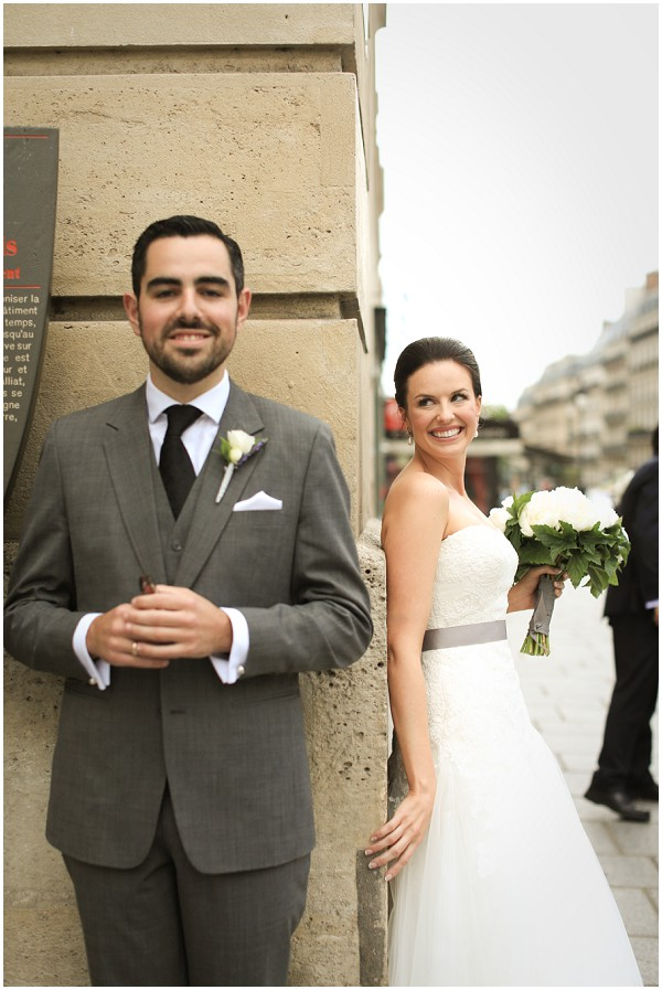 First look at a wedding in Paris | Melissa Barrick Photography