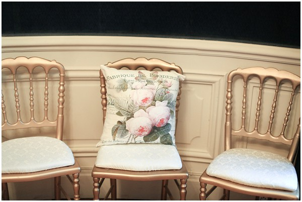 french style wedding chairs