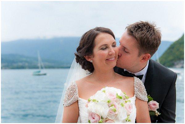French lake wedding