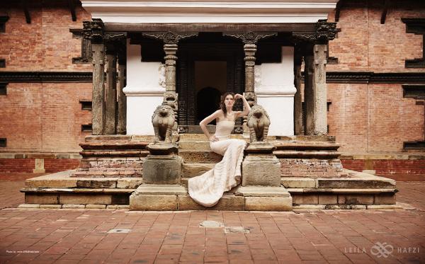 leila hafzi bridalwear
