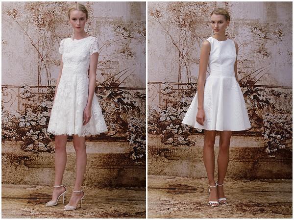 Little White Wedding Dress Monique Lhuillier